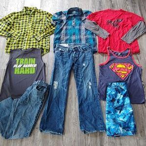Boys Lot of Clothes Sz 14
